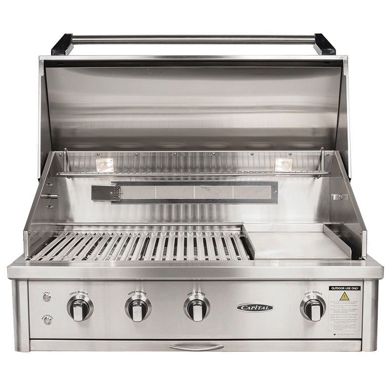 "40"" Built In Barbecue 