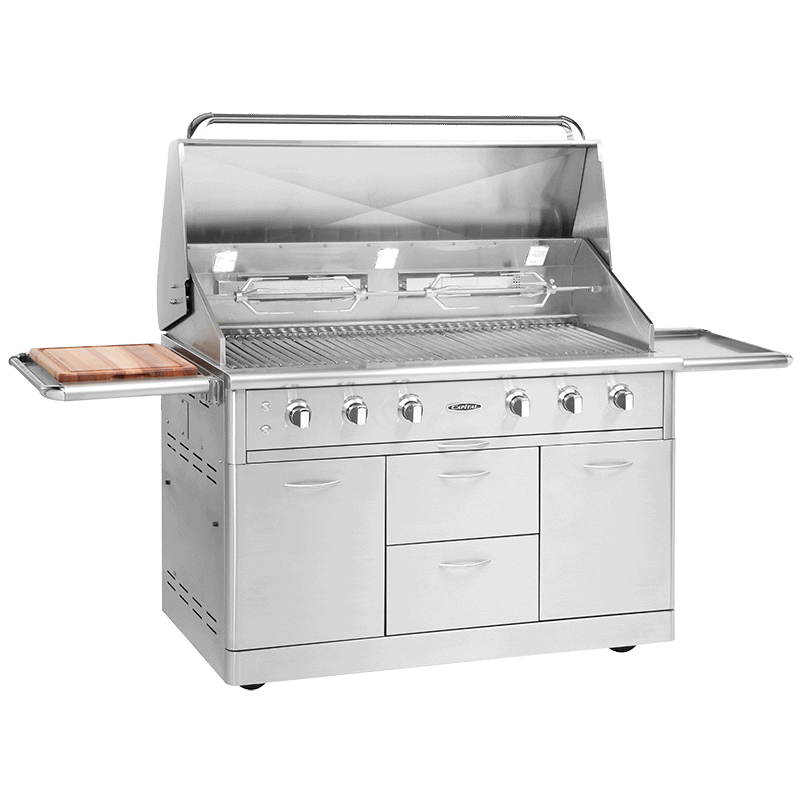 52 inch Cart model open Grill BBQ full image | ACG52RFS N/L